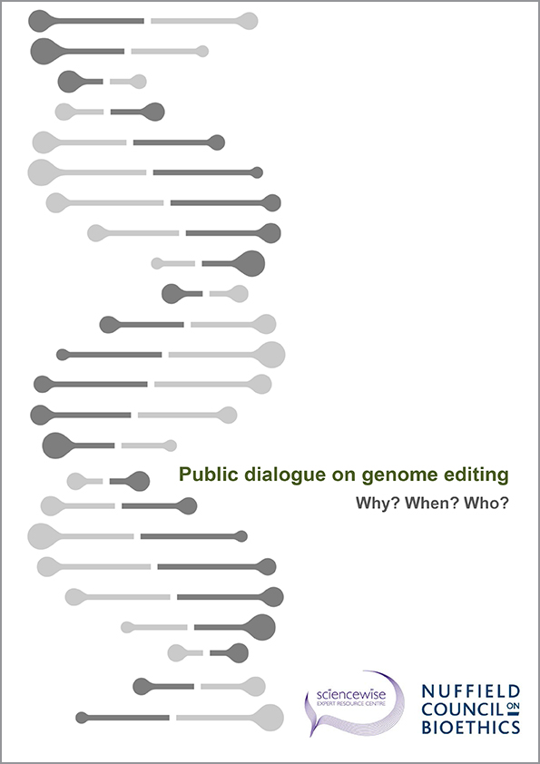 Public dialogue on genome editing Why? When? Who?