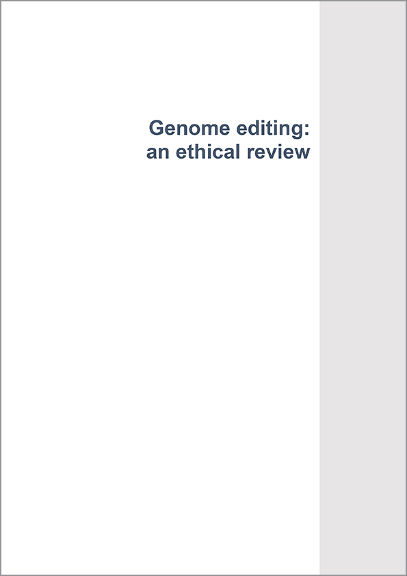 Genome editing: an ethical review