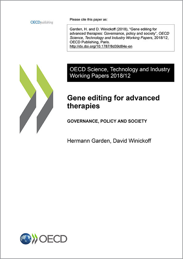 Gene editing for advanced therapies